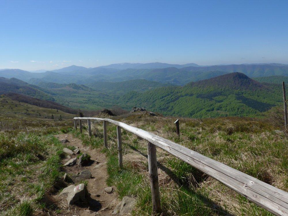 Bieszczady – szlak na Halicz