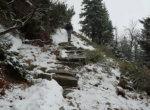 Climbing towards Śnieżka