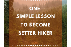 This one simple lesson will make you a better hiker!