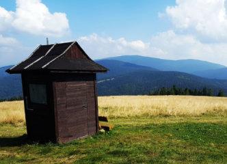 View from Hala Rysianka