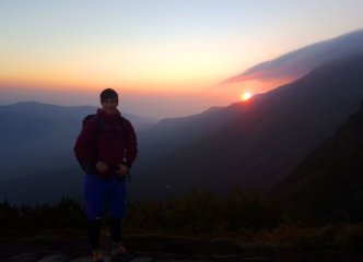 Happy hiker :)