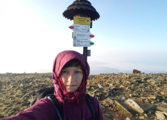 Babia Góra Diablak summit