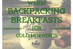 Warm Backpacking Breakfast Ideas for Cold Mornings