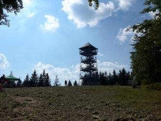 View tower on Wielka Czantoria