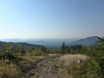 View on Beskidy