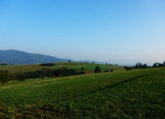 Leaving Węgierska Górka