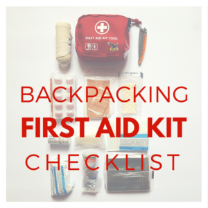 Backpacking-First-Aid-Kit-Checklist