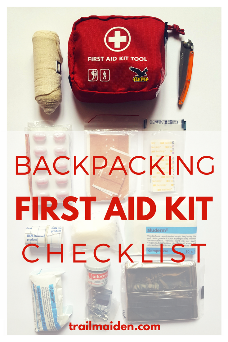 Your Must Have Backpacking First Aid Kit